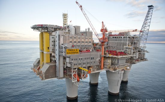 Oil Price Rise On Norwegian Production