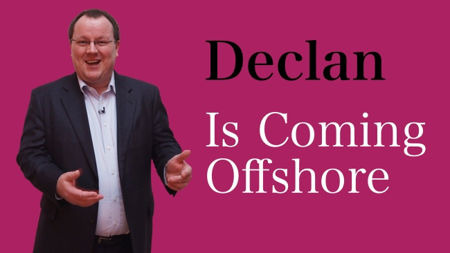 Declan Curry Is Coming Offshore