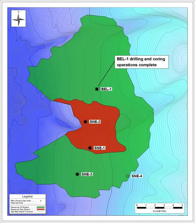 Cairn Energy Senegal Exploration Drilling Map