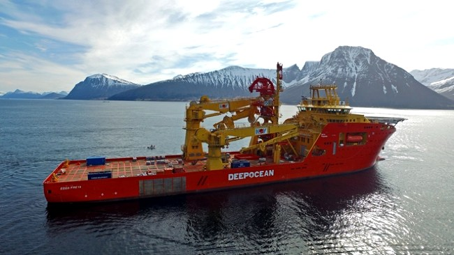 DeepOcean Wins North Sea Decom