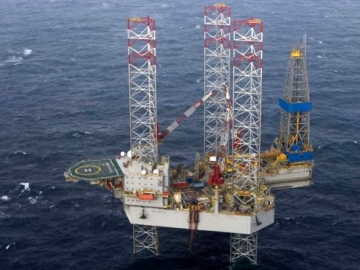 North Sea Drilling Rig Extension With Shell