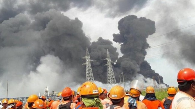 Explosion Kills 3 Injures 136