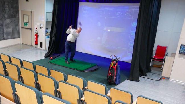 Safe Boreas Golf Simulator