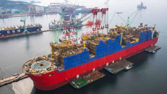Shell Giant Prelude FLNG