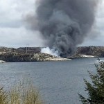 Breaking: Offshore Helicopter Crash