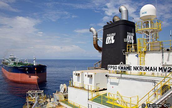 Tullow Oil Kwame Nkrumah FPSO, Offshore Ghana