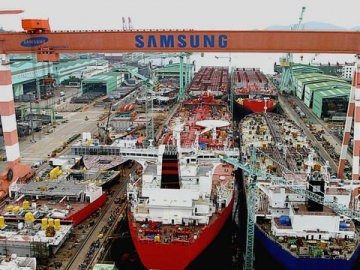 Worker Dies At Samsung Shipyard