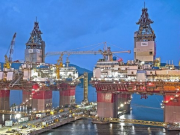 New Drilling Rig Nearing North Sea