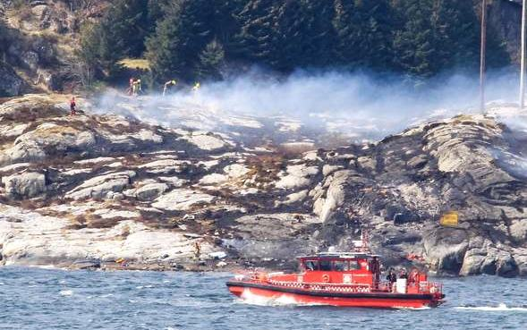 CHC Offshore Helicopter Crash Norway