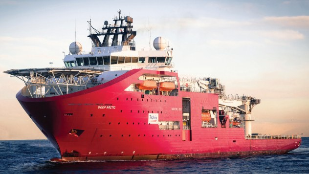 Technip Deep Arctic Offshore DSV