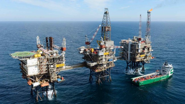 BP Ula Platform, Offshore Norway