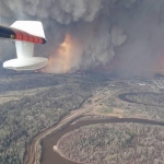 Production Shutdown As Wildfires Rage On Near Oil Sands