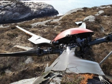 Helicopter Crash Report Points To Gear Fracture