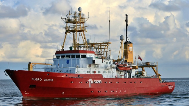 Offshore Vessel Joins World's Largest Oil & Gas Survey