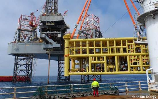 Ithaca Gains Access To North Sea Pipeline