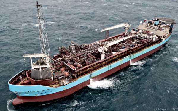 Maersk Curlew FPSO, Central North Sea