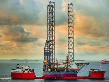 Maersk Drilling Rig Sets Off To The North Sea