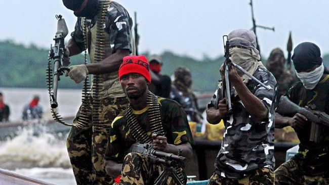 Terrorists Attacking Oil SitesClose To Peace Agreement