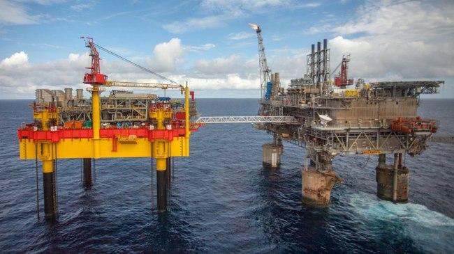 Shell Malampaya Platform, Offshore Philippines