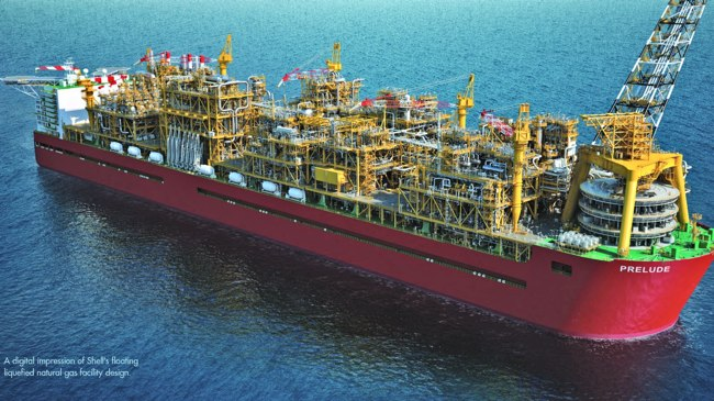 Support Deal Awarded For World's Largest FLNG