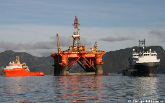 Songa Delta Semisubmersible Offshore Drilling Rig