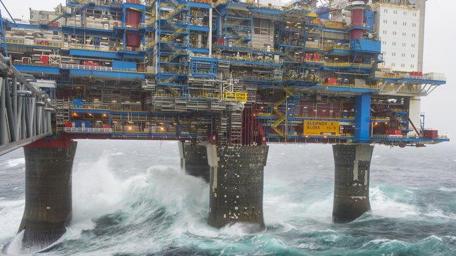 Statoil UpsUK North Sea Utgard Field Stake