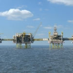 Construction Of North Sea Giant AtNew Phase