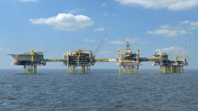 Construction Of North Sea Giant At New Phase