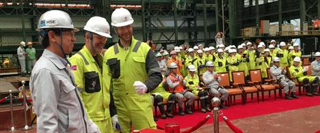 Statoil Johan Sverdrup Riser Platform Fabrication Starts