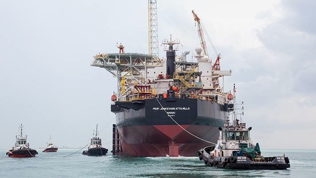 First Oil Due At Offshore Tullow Ten