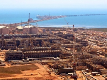 Chevron Gorgon LNG Restarts Production