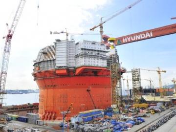 Worker Dies in Hyundai Heavy Shipyard