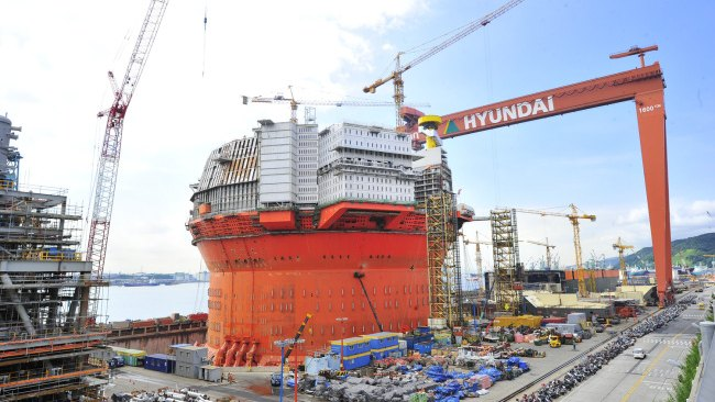 Worker Dies in Hyundai Heavy Shipyard