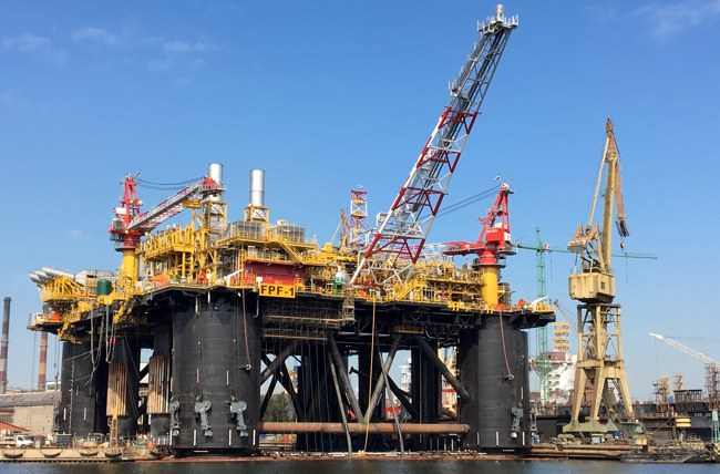 North Sea FPF-1 Platform Ready For Stella