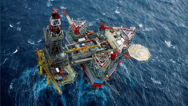 Maersk Gallant Offshore Drilling Rig