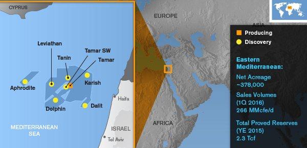 Noble Energy Eastern Med Map