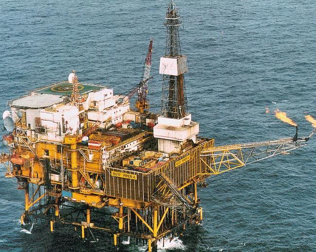 Piper Alpha Offshore Platform 1988