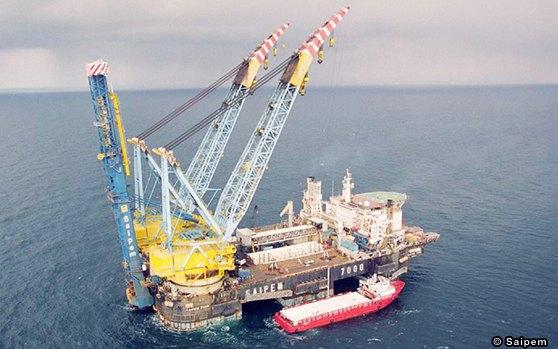 Saipem 7000 Offshore Heavy Lift  Crane Vessel