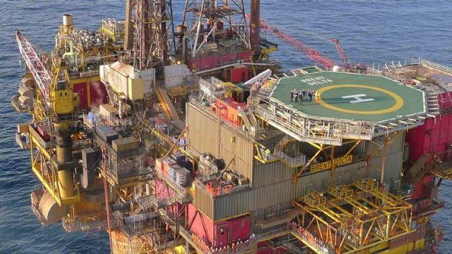 Shell Brent Delta Platform