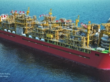 Shell Awards Prelude FLNG Contract