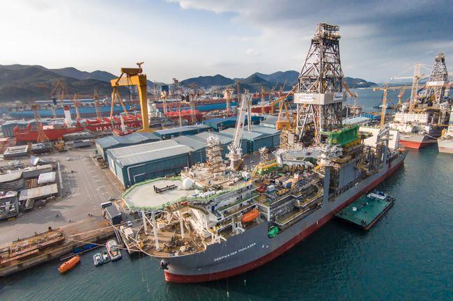 Transocean Deepwater Thalassa Offshore Ultra Deepwater Drillship