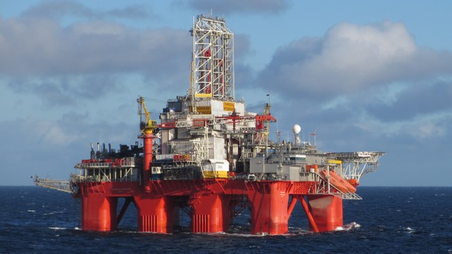 Transocean Spitsbergen Offshore Semisubmersible Drilling Rig