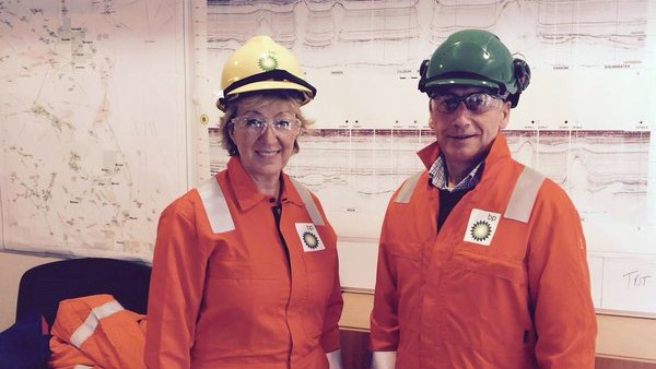 UK Minister For Energy and Climate Change Andrea Leadsom On BP's North Sea ETAP