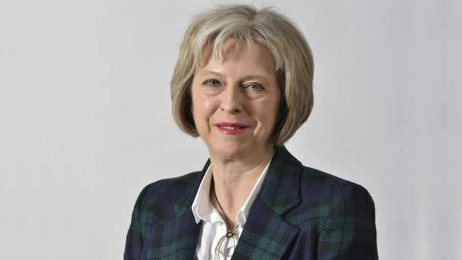 UK Prime Minister In Waiting Theresa May