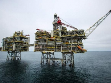 PHOTO: BP Completes North Sea Clair Ridge Project