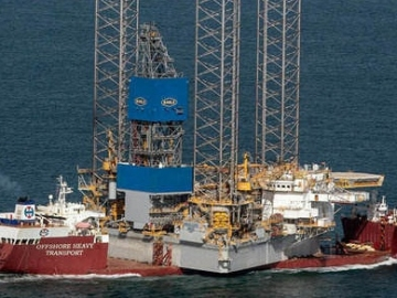 World's Largest Jack-Up Rig Sets Sail