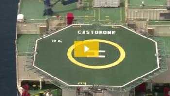 Saipem Castorone; 100,000 Tonne Offshore Pipelaying Vessel