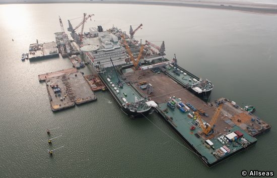 Allseas Pioneering Spirit, Offshore Decommissioning Vessel