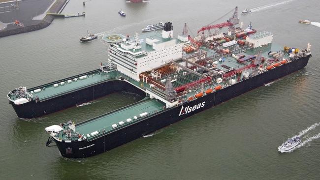 Allseas' Pioneering Spirit Decommissioning Vessel