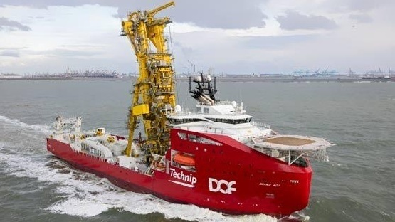 Offshore Support Vessels Contracted at DOF Subsea